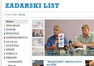 Više detalja o Zadarski list