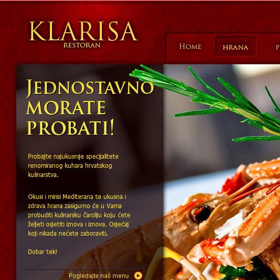 Restoran Klarisa, Dubrovnik